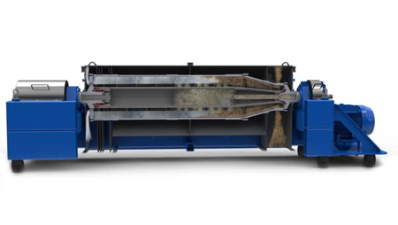 卧螺式离心机应用施耐德方案介绍