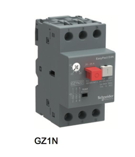 施耐德电动机热磁断路器-GZ1N  D3N系列