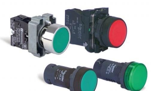 施耐德按钮开关-XB2B金属按钮系列
