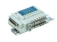 SMC气动元件-4、5通先导式电磁阀