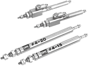 SMC气动元件-标准型气缸CJ1系列