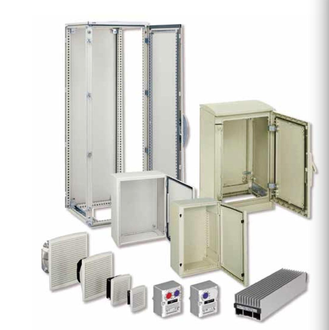 施耐德电柜-落地式组装金属机柜