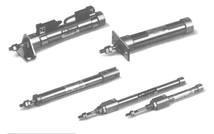 SMC气缸-标准型气缸CJ1系列