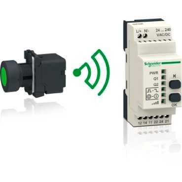施耐德无线按钮免电池遥控-XB5R Harmony