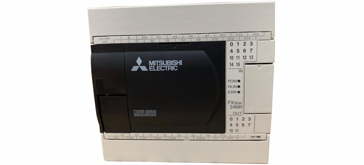 三菱PLC FX3GA-24MR